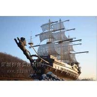 观赏船,振兴厂,景观木船,景观船样式,十大品牌