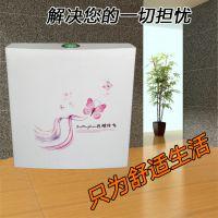 正品卫浴重水箱超强力蹲便器壁挂式马桶双按节能水箱配件