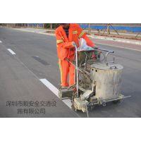 深圳停车场划线 小区地下车库标识牌标线 停车场设备