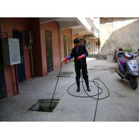 管道清洗疏通机丨酒店下水管道淤泥清洗机