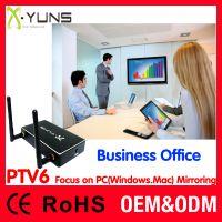 PTV6 兼容Windows7/8/10台式、笔记本电脑Mac 系统无线投屏 屏幕投射