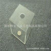 方形透明有机玻璃存钱罐