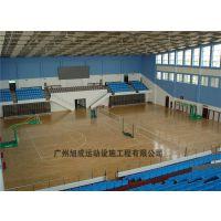 广州从化体校PVC木地板工程/篮球场/羽毛球场/乒乓球场木地板批发
