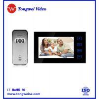 安防设备 可视对讲门铃 智能楼宇 触摸按键 7寸TFT高清显示屏 可视门铃