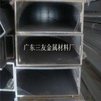 门窗装饰6063铝合金方管_6061铝扁管100*100