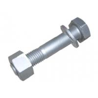 专业生产高端热镀锌螺栓 热渗镀锌螺柱螺母
