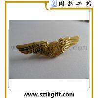 金属徽章定做 金属老鹰徽章生产工厂 同辉高品质定做生产