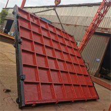 厂家直销铸铁闸门1*1米的螺杆式启闭机小型|大型水渠闸门品质保证