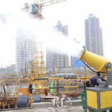 供应贵阳露天隧道工地除尘雾炮机 全自动喷雾降尘机 鸿安泰-65