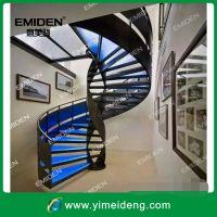 供应阁楼/复式楼室内碳钢旋转楼梯YMD-0926