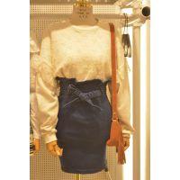 韩国东大门款2014秋装打底衫女 多色棉贴蕾丝韩版圆领套头蕾丝衫
