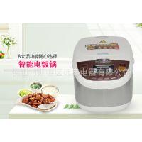 【批发】智能厨房电器 家用电饭煲 正品方煲 多功能5升电饭锅批发