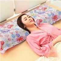 厂家批发定做纯棉单人枕芯套1.5米1.2m代发1.8全棉双人长枕头枕套