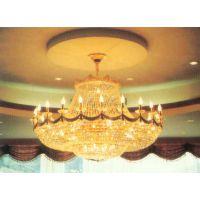 中元之光定制酒店工程奢华水晶灯 客厅餐厅吊灯 水晶装饰灯具灯饰销售