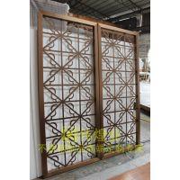 酒庄饭堂复古风拉丝不锈钢屏风装饰 不锈钢屏风隔断厂家高端定制