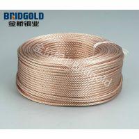 长期生产供应镀锡绞线,裸电线,编织线导电带,母线伸缩节