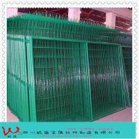 成都护栏网厂家供应框架隔离栅护栏网,道路防护网,绿色围栏网