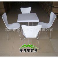 广东深圳真功夫必胜客方形人造石材餐桌子 可来图定制