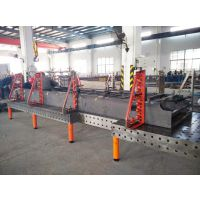 3000x1500三维柔性焊接平台/铸铁三维焊接工装平台-三威牌