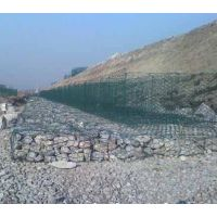 定制热镀锌石笼网、PVC格宾石笼、高尔凡凡锌铝网、河道治理10*12 8*10