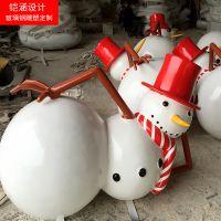 【铠涵工艺品】圣诞雪人雕塑-圣诞老人摆件-节日装饰雕塑