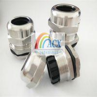 304不锈钢电缆防水接头规格 上海ACX不锈钢M12电缆密封头单价