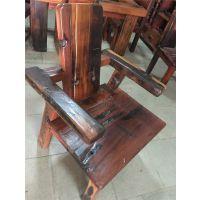老船木家具主人椅,老板椅,实木扶手靠背主人椅子