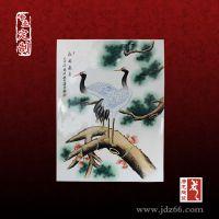 景德镇陶瓷屏风居家装饰陶瓷屏风