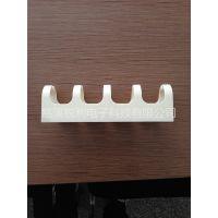 PC阻燃理线架 110型理线器塑料理线器塑料理线环