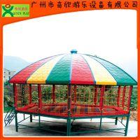 厂家直销广州奇欣儿童蹦床,儿童跳跳床,六角蹦蹦床,物美价廉(QX-118A)