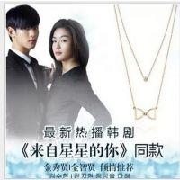 PN309 韩版项链 来自星星的你全智贤同款 项链吊坠女短款锁骨链