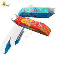 艺趣幼儿园手工材料包涂色潜望镜儿童diy制作折纸玩具[YQ20009]