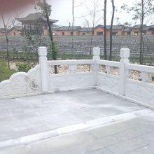 河道护坡石栏杆/石材防护栏/批发定做栏杆厂家