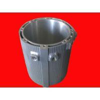 供应电动汽车永磁同步水冷循环铝焊接合金电机壳6063永磁水冷铝电机