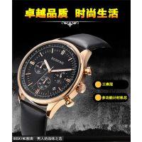 8806G男士真皮带手表