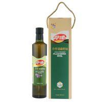 华建诚鑫 500ml冷榨脱蜡亚麻籽油 山西特产 植物油 富含a-亚麻酸