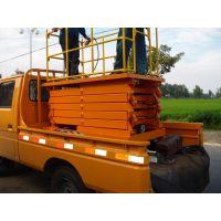 车载式升降机原装厂家,包安装四川冠汇机械底价出售