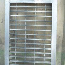 压焊钢格板 排水沟盖 定做麻花钢防滑板