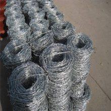 刺丝护栏网 刺绳钢丝网 铁丝刺绳价格