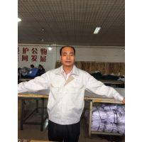 北京厂家供应各种长袖短袖工作服 工装夹克汽修服 厂服 可印字绣Logo
