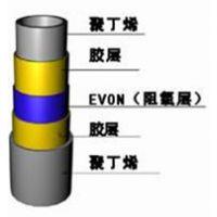 青岛科杰塑机EVOH三层五层复合阻氧管材设备