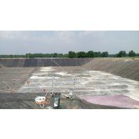 供应鱼塘水产护坡黑膜,养殖污水池底部防渗膜焊接施工