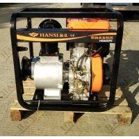 德国翰丝大流量6寸柴油自吸水泵混流泵HS60DPE
