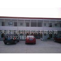 天津静海区祈虹彩钢厂家直销新型QHCG-003低价环保彩钢板围挡