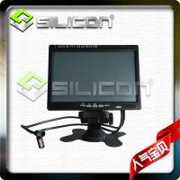 7寸车载显示器/7寸液晶触摸屏/高清数字1024*600/VGA监控显示器