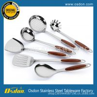 百仕顿厂家直销 不锈钢厨具 烹饪勺铲 7件套厨具套装
