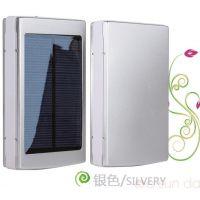厂家直销太阳能充电宝1万毫安 移动电源手机通用超值特价反季大促