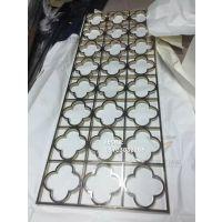 哑光拉丝黑钛不锈钢屏风 黑钛拉丝不锈钢隔断厂家 304不锈钢哑光黑钛花格