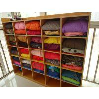 成都大林宝宝厂家供应幼儿园简易实木书包柜 教室书包储物柜