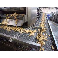 供应豪联牌HLZD-4500型鱼豆腐油炸流水线连续油炸机新型节能